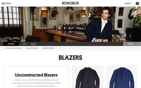 Men's Blazers & Sportcoats   Bonobos