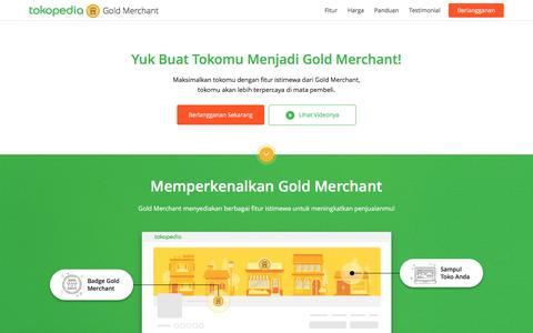 Screenshot of tokopedia.com - Gold Merchant | Tokopedia - captured Feb. 27, 2017