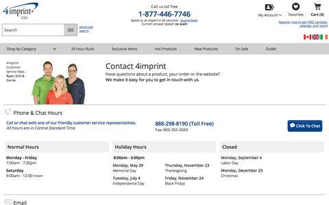 Need help contacting us?