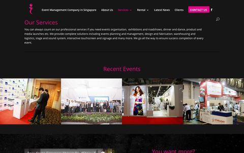 Screenshot of Services Page essentialwerkz.com - Services - Essential Werkz - captured Sept. 28, 2018