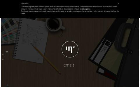 Screenshot of Home Page minsic.com - Minsic Studio - Realizzazione siti responsive - captured Feb. 19, 2018