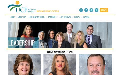 Screenshot of Team Page ucpcfl.org - ::UCPCFL:: - captured Oct. 1, 2018