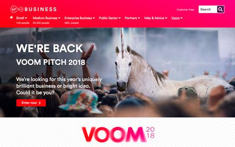 Voom 2018 | Virgin Media Business