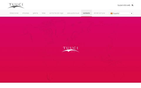 Screenshot of Contact Page tuuci.com - Contact Us | TUUCI - captured Jan. 28, 2018