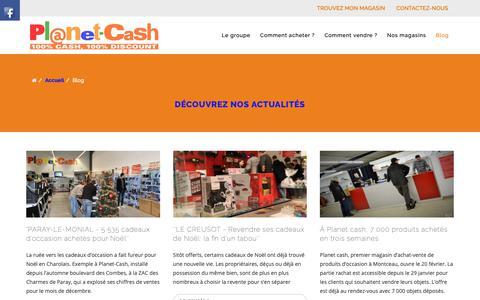 Screenshot of Blog planet-cash.fr - Planet Cash   Blog - captured Dec. 13, 2018