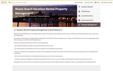 Screenshot of Team Page vacasa.com - Miami Beach Vacation Rental Property Management   Vacasa - captured Aug. 10, 2016