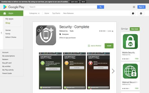 Security - Complete - Android Apps on Google Play