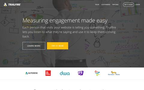 Measuring engagement made easy | Trialfire