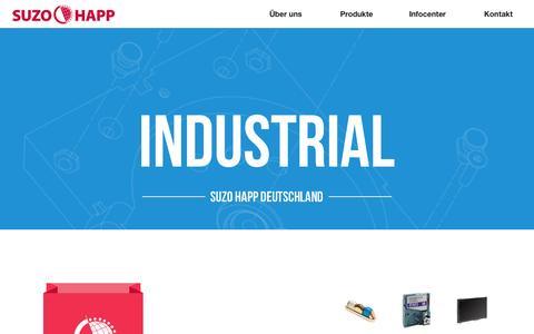 Screenshot of Home Page suzo.de - Suzo Happ Deutschland - Der Hopper Spezialist - captured Oct. 8, 2014