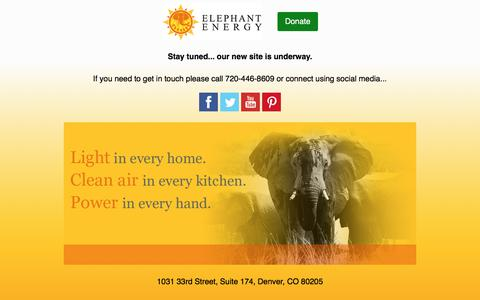 Elephant Energy
