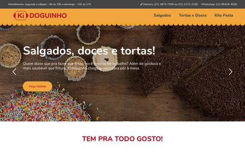 Screenshot of Home Page kidoguinho.com.br - Kidoguinho - captured Sept. 20, 2018