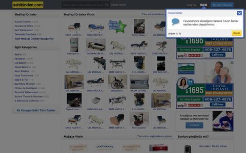 Medikal Ürünler, Sıfır, İkinci El Hastane ve Muayenehane Malzemeleri sahibinden.com'da