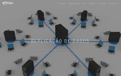 Screenshot of Home Page consir.com.br - Consir | Sites e Sistema de Gestão para Sindicato e Federação - captured Sept. 25, 2018