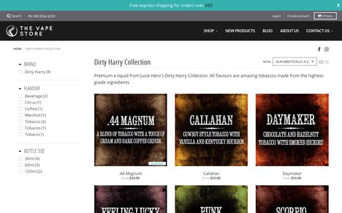 Dirty Harry Collection – The Vape Store
