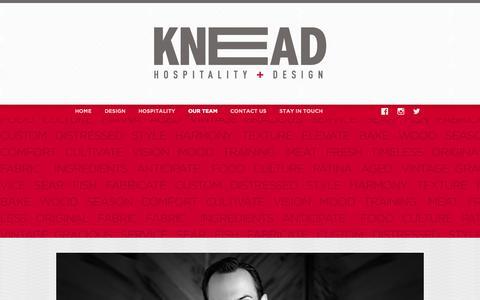 Screenshot of Team Page kneadhd.com - Our Team «  Knead HD - captured Aug. 6, 2015
