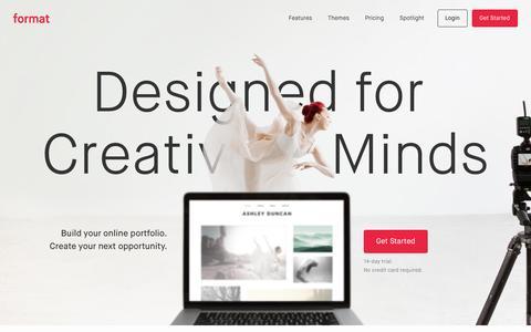 Format.com - Your online portfolio