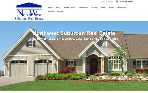 Screenshot of About Page nwsrealestate.com - About - Northwest Suburban Real Estate for Sale - captured Oct. 20, 2018