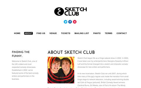 Screenshot of About Page sketchclub.co.uk - About Sketch Club - Sketch Club - captured June 13, 2018