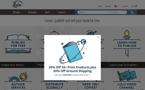 Online Self Publishing Book & eBook Company - Lulu