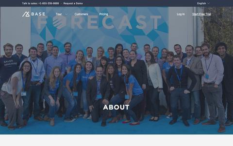 Screenshot of About Page getbase.com - About Base | Base CRM Base - captured Nov. 17, 2015