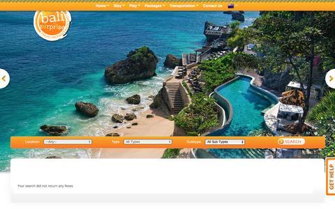 Screenshot of Press Page balisurprise.com - Bali Package Bali Surprise - captured Dec. 29, 2015