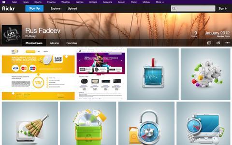 Screenshot of Flickr Page flickr.com - Flickr: Oh-Design's Photostream - captured Oct. 26, 2014