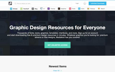 Free & Premium Design Resources — Medialoot