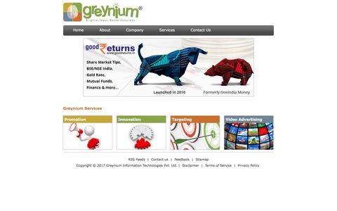 Greynium | Oneindia | Click.in | Indian language portal | Classifieds in India