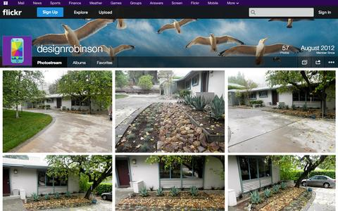Screenshot of Flickr Page flickr.com - Flickr: designrobinson's Photostream - captured Oct. 26, 2014