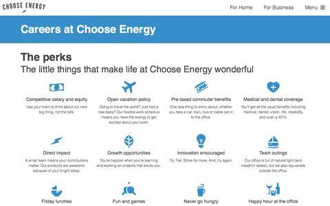 Careers - Choose Energy