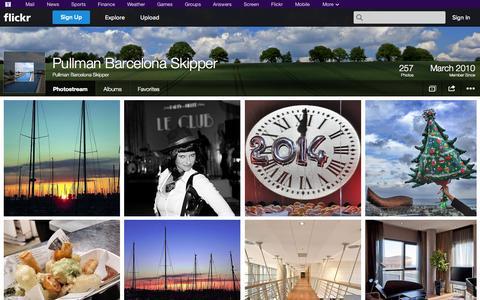 Screenshot of Flickr Page flickr.com - Flickr: Pullman Barcelona Skipper's Photostream - captured Oct. 23, 2014