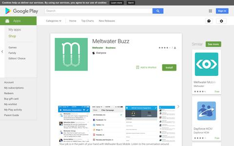 Meltwater Buzz - Apps on Google Play