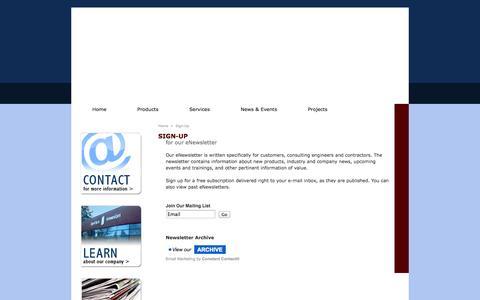 Screenshot of Signup Page eccoregon.com - Ecc Oregon - captured Oct. 2, 2014