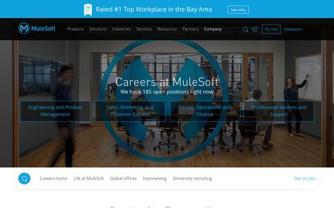 Careers | MuleSoft