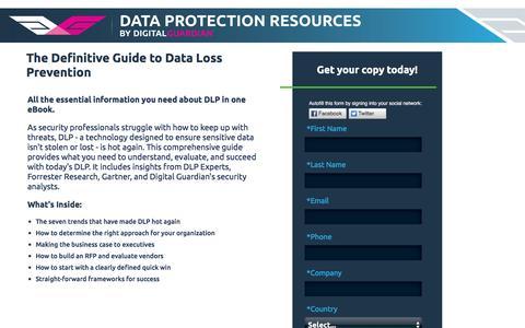 Definitive Guide to Data Loss Prevention
