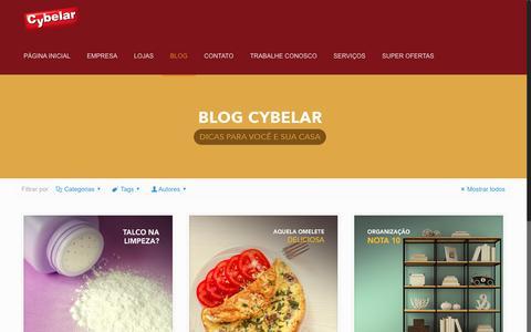 Screenshot of Blog cybelar.com.br - Blog - Cybelar - captured May 24, 2017