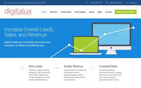 Digitalux: NJ SEO Company & Digital Marketing Agency