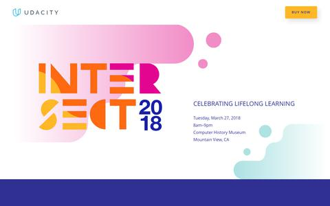 Intersect 2018 Conference | Udacity