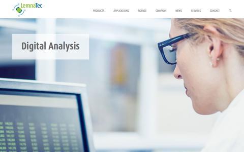 Screenshot of Home Page lemnatec.com - LemnaTec is the market leader in plant phenotyping systems   LemnaTec - captured July 18, 2018