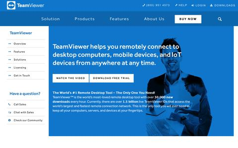 An Overview of the Leading Remote Support Solution | TeamViewer