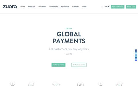 Recurring Payments & Payment Gateways - Zuora