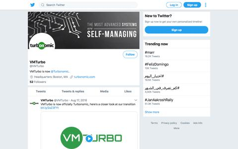 Tweets by VMTurbo (@VMTurbo) – Twitter