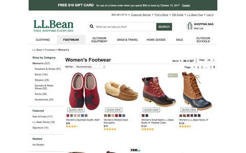 Women's Footwear | Free Shipping at L.L.Bean