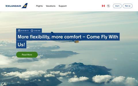 Screenshot of Blog icelandair.com - Blog | Icelandair - captured Sept. 27, 2018