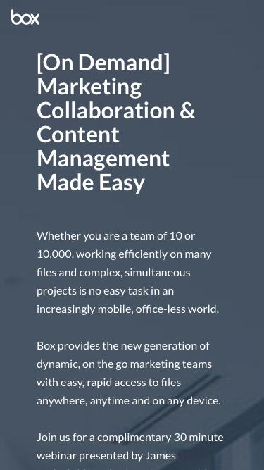 Marketing Collaboration & Content Management Made Easy