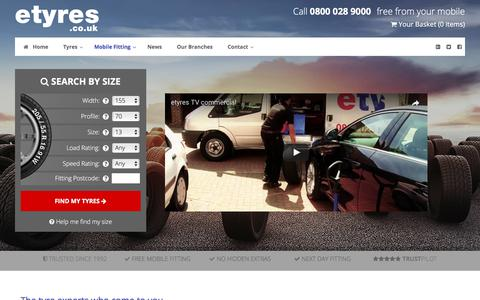 Free Mobile Tyre Fitting With Next Day Service - etyres