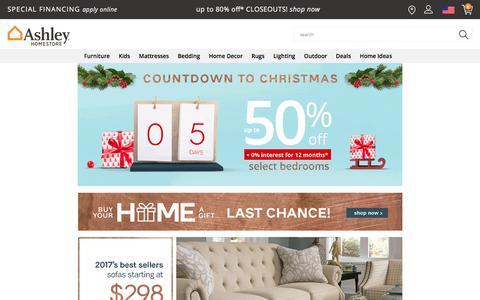 Ashley Furniture HomeStore | Home Furniture & Decor | Ashley Furniture HomeStore