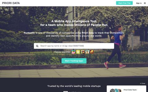 PRIORI DATA - Quantify the app economy