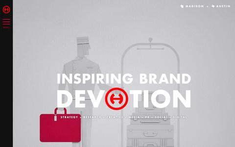 Hiebing - Integrated Marketing and Advertising Agency, Madison, Wisconsin and Austin, Texas