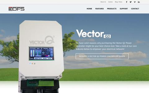Screenshot of Products Page 3dfs.com - Vector Q2 Power Controller   3DFS Power Solutions - captured Oct. 7, 2014